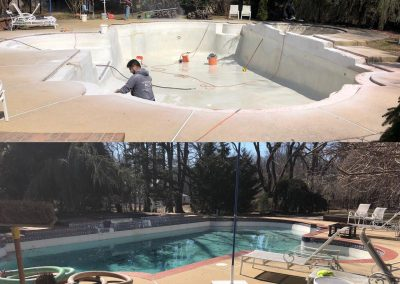 Before & After Swimming Pool Repair