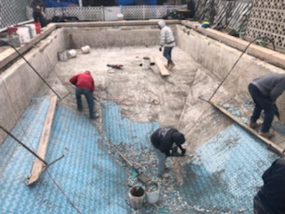 Swimming Pool Repair Bucks County PA